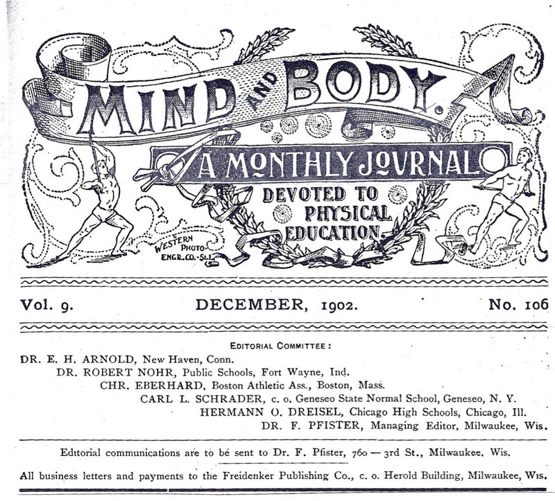 Mind and Body 1902